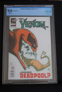 What if Venom Possessed Deadpool? #1, 9.6 HOT! HOT! HOT!