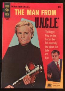 Man from U.N.C.L.E. (1965 series) #11, Fine+ (Actual scan)