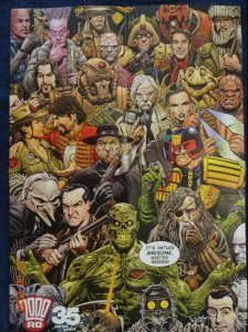 2000 AD Promo Poster, Judge Dredd, 17 x 23.5, 2012, Unused more in our store 584