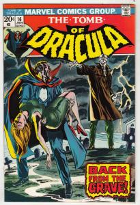 Tomb of Dracula #16 (Jan-74) NM- High-Grade Dracula