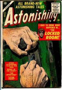 Astonishing #41 1955-Atlas-Mort Drucker-robot story-VG