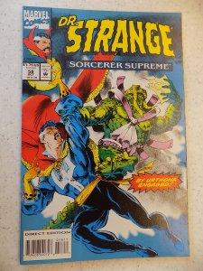 DR. STRANGE SORCERER SUPREME # 58 MARVEL FANTASY ADVENTURE
