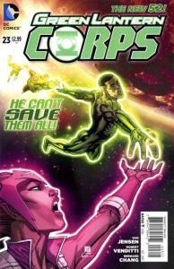 Green Lantern Corps (2011 series) #23, NM (Stock photo)