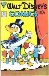 Comics and Stories, Walt Disney's #515 (Feb-87) NM/NM- High-Grade Donald Duck...