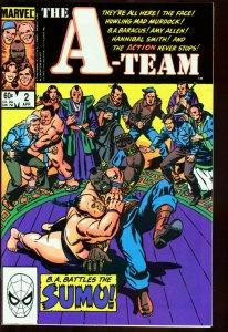 A-TEAM #2-MR. T-MARVEL-B.A. BARACUS-TV SERIES-RARE!! VF/NM