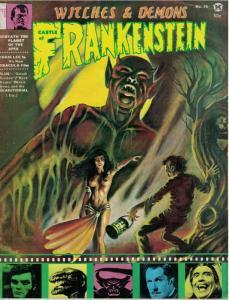 CASTLE OF FRANKENSTEIN 15 VG-F CHRIS LEE,Karloff copy H