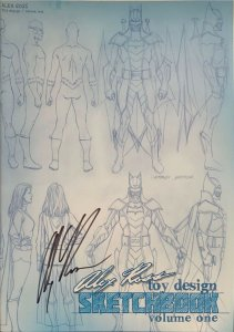 Toy Design Sketchbook Volume One (EX) Signed by Alex Ross NM.