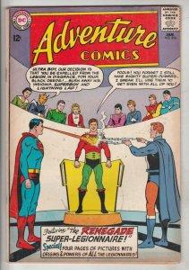 Adventure Comics #316 (Jan-64) FN+ Affordable-Grade Legion of Super-Heroes (S...