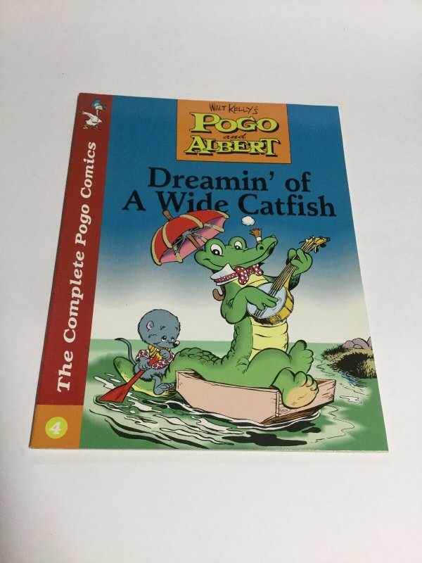 The Complete Pogo Comics Book 4 Dreamin' Of A Wide Catfish Sc Softcover