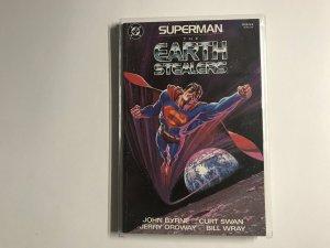 Superman: The Earth Stealers #1 (1988)NM4B4 NM Near Mint
