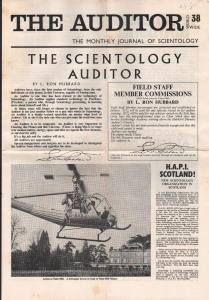 Auditor 8/1968-LRH-L.Ron Hubbard-pulp magazine author-newspaper format-VG