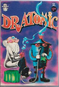 DR. ATOMIC #2 - 1973 UNDERGROUND MARIJUANA COMIC