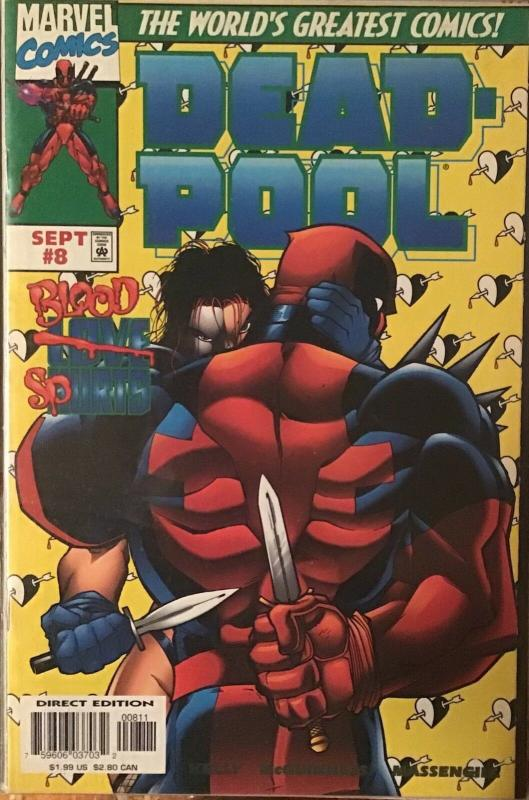 DEADPOOL (1997 SERIES)#5-#6-#7-#8 MARVEL 4 BOOK LOT! IN AWESOME CONDITION 9.4