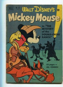 Dell Four Color 313 VG-/VG Mickey Mouse Mystery of the Double-Cross Ranch