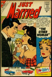 Just Married #16 1960- Spicy Romance Charlton Comic- Other Woman VG