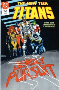 NEW TEEN TITANS #32, VF/NM, Cyborg, DC 1984 1987  more DC in store