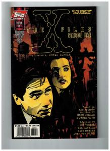 The X-Files Season One # 1 Topps Comic Books Molder And Skully Hit TV Show!! SW1