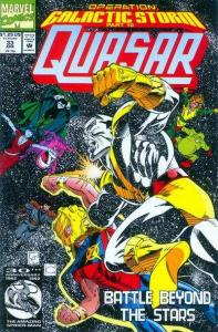Quasar #33, VF- (Stock photo)