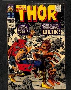Thor #137 VG+ 4.5 1st Ulik!