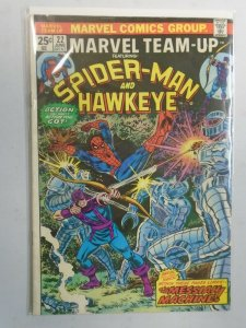 Marvel Team-Up #22  4.0 VG No Marvel Value Stamp (1974 1st Series)