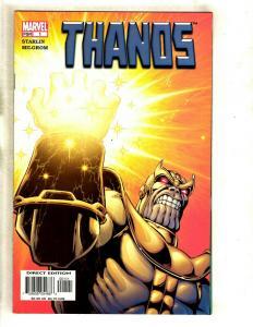 Lot Of 12 Thanos Marvel Comic Books # 1 2 3 4 5 6 7 8 9 10 11 12 1st Prints GK5