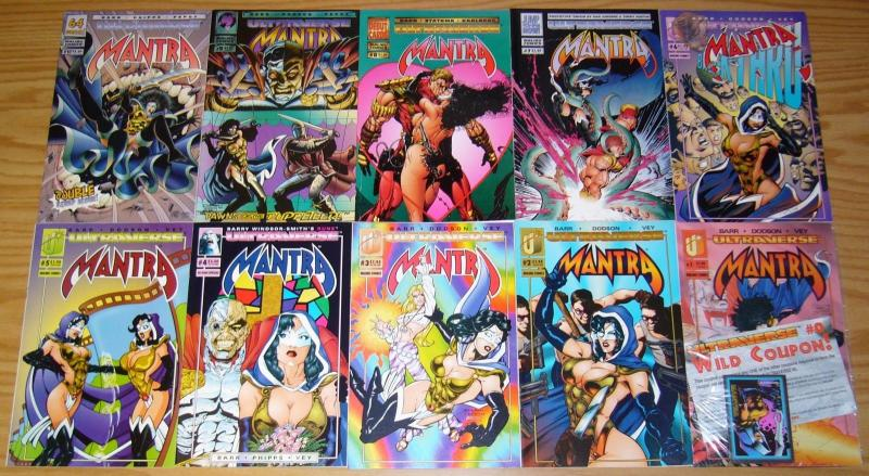 Mantra #1-24 VF/NM complete series + giant-size - malibu ultraverse transgender