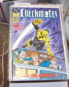 CHECKMATE COMIC #1 DC 1988