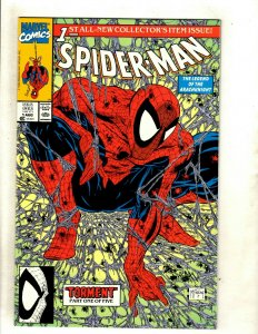 Lot Of 12 Spider-Man Marvel Comic Books # 1 (3) 2 3 4 5 6 7 8 9 10 McFarlane HJ9