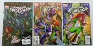 Secret Invasion Amazing Spider-Man, Set:#1-3, 8.0/VF (2008)