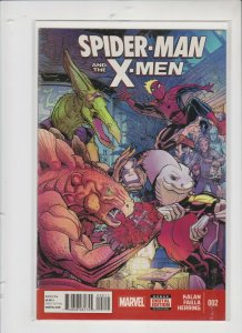 SPIDER-MAN AND THE X-MEN #002 2015 MARVEL  / UNREAD / NM/+