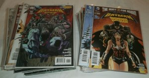 Batman and Robin V1 #19-22 V2 #23-36 Tomasi Gleason New 52 comic book lot of 56
