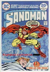 SANDMAN #1, VF, Jack Kirby, Joe Simon ,1974, Dreams, more JK in our store