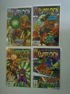 Warlock set #1-4 8.0 VF (1998 Limited Series)