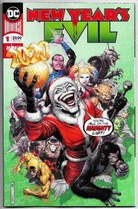 New Years Evil #1 Batman Who Laughs | Joker | Harley Quinn (DC, 2020) NM