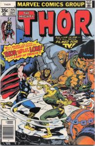 Thor #275 VF/NM; Marvel | save on shipping - details inside