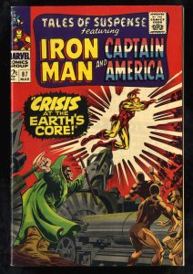 Tales Of Suspense #87 FN/VF 7.0 White Pages Iron Man