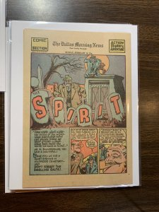 The Spirit Comic Book Section Newspaper Very Fine Or Better 1943 February 14