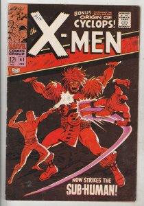 X-Men #41 (Feb-68) VF High-Grade X-Men