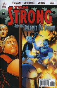 Tom Strong and the Robots Of Doom #5 VF/NM; America's Best   save on shipping -
