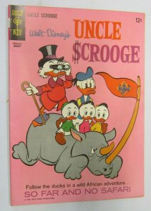 Uncle Scrooge #61 Walt Disney 5.0 (1966)
