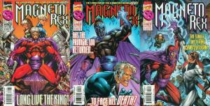 MAGNETO REX (1999) 1-3  the COMPLETE series!