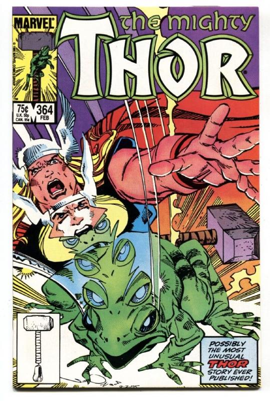 Thor #364 1983-First Frog THOR- Marvel NM-