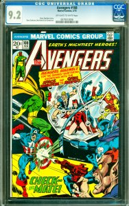Avengers #108 CGC Graded 9.2