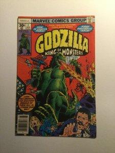 Godzilla 1 Very Fine Vf 8.0 Marvel