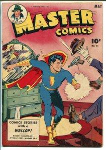 MASTER #61 1945-FAWCETT-CAPT MARVEL JR-NYOKA SERIAL-BULLETMAN-RADAR-fn