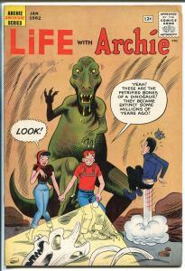 Life With Archie #12 1962-Dinosaur-rockets-aliens-sci-fi-unique-VG/FN