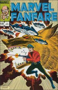 Marvel MARVEL FANFARE (1982 Series) #17 VF/NM