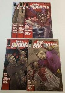Back To Brooklyn #1-5 Complete Set High Grade NM Image Comics 2008