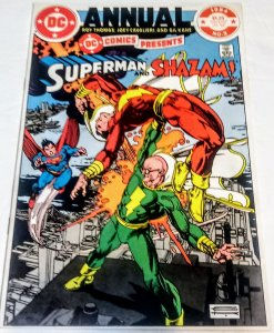 DC Comics Presents Annual # (9.2 WP) 1984 Superman Shazam! Gil Kane DC ID13H