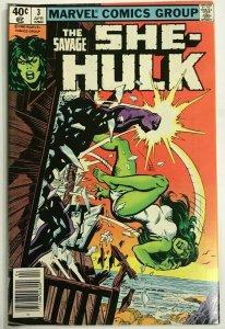 SAVAGE SHE-HULK#3 VF 1980 MARVEL BRONZE AGE COMICS